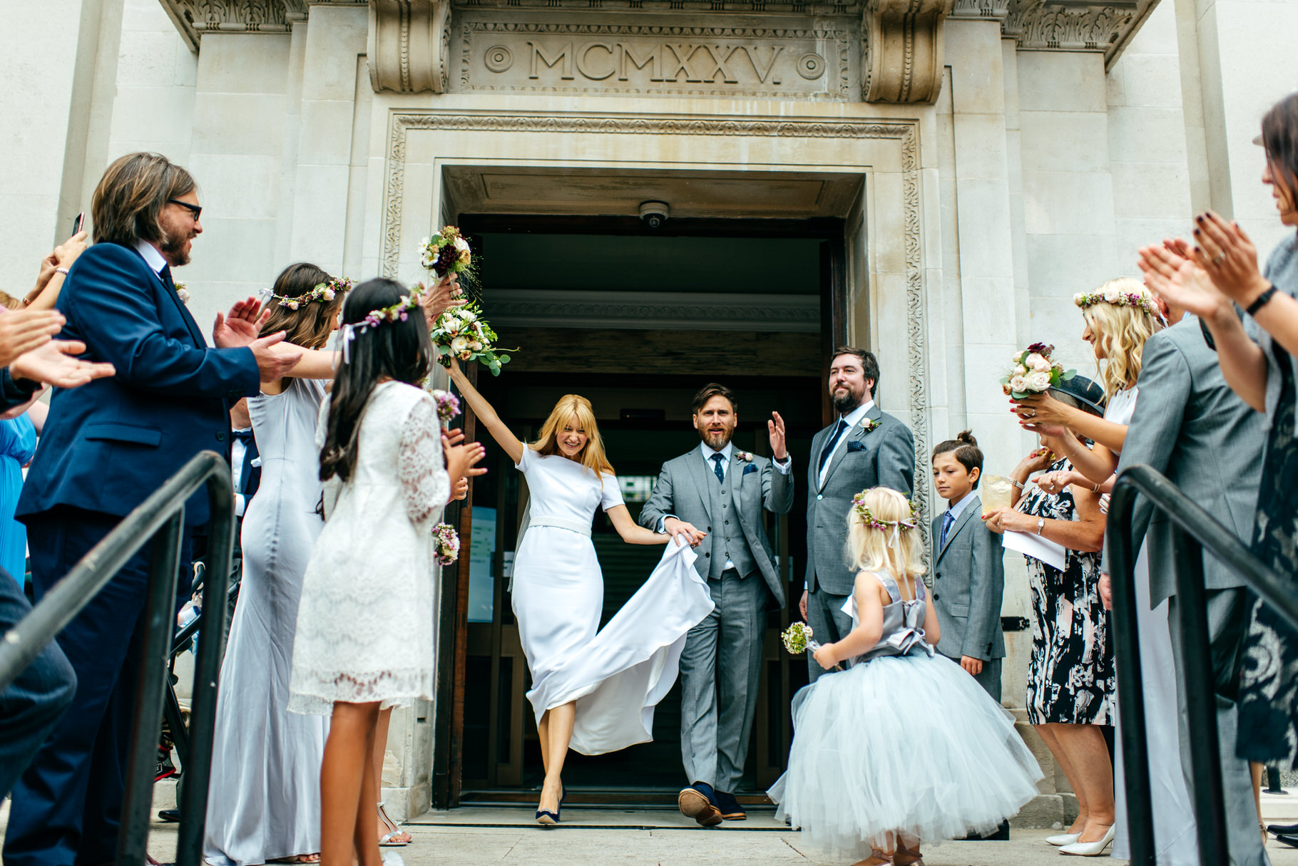 West Reservoir Centre Wedding For Super Stylish Victoria And Dan