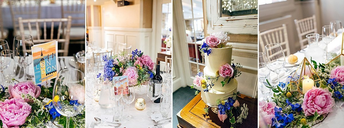 Decoration details from Great John Street Hotel Wedding