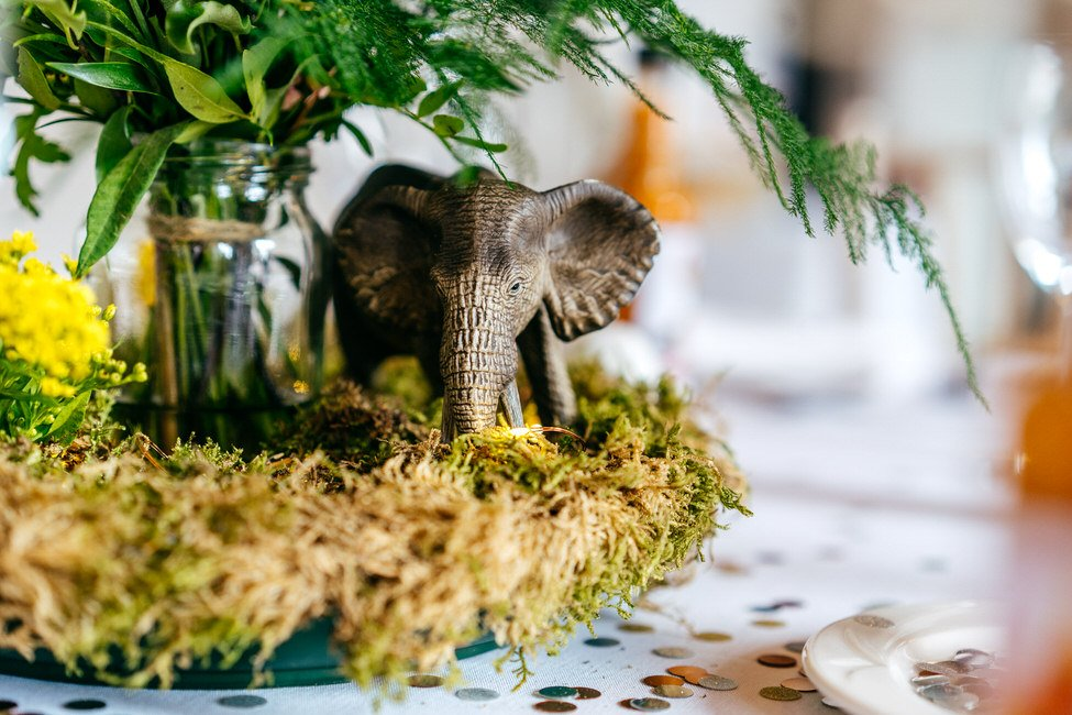 Wedding decor that can be recycled toys taken home by kids at wedding from table decorations